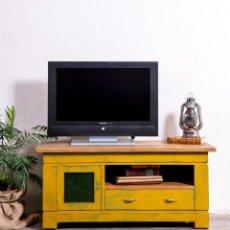 Antigüedades: MUEBLE APARADOR TELEVISIÓN RECUPERADO LEONARD. Lote 183305686