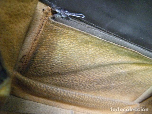 Antigüedades: Bolso piel de serpiente Años 60 -70 - Foto 18 - 183313588