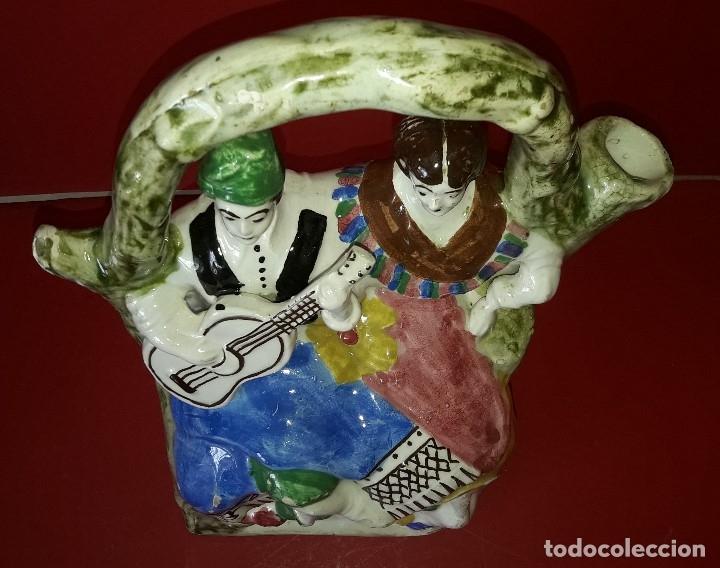 Antigüedades: ANTIGUO BOTIJO DE MANISES - Foto 3 - 183322711