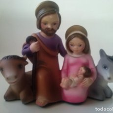 Antigüedades: FIGURA BELÉN NACIMIENTO INFANTIL OLOT. Lote 183329086