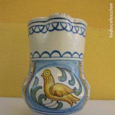 Antigüedades: JARRA PAJARITO GIMENO. MANISES. Lote 183330031