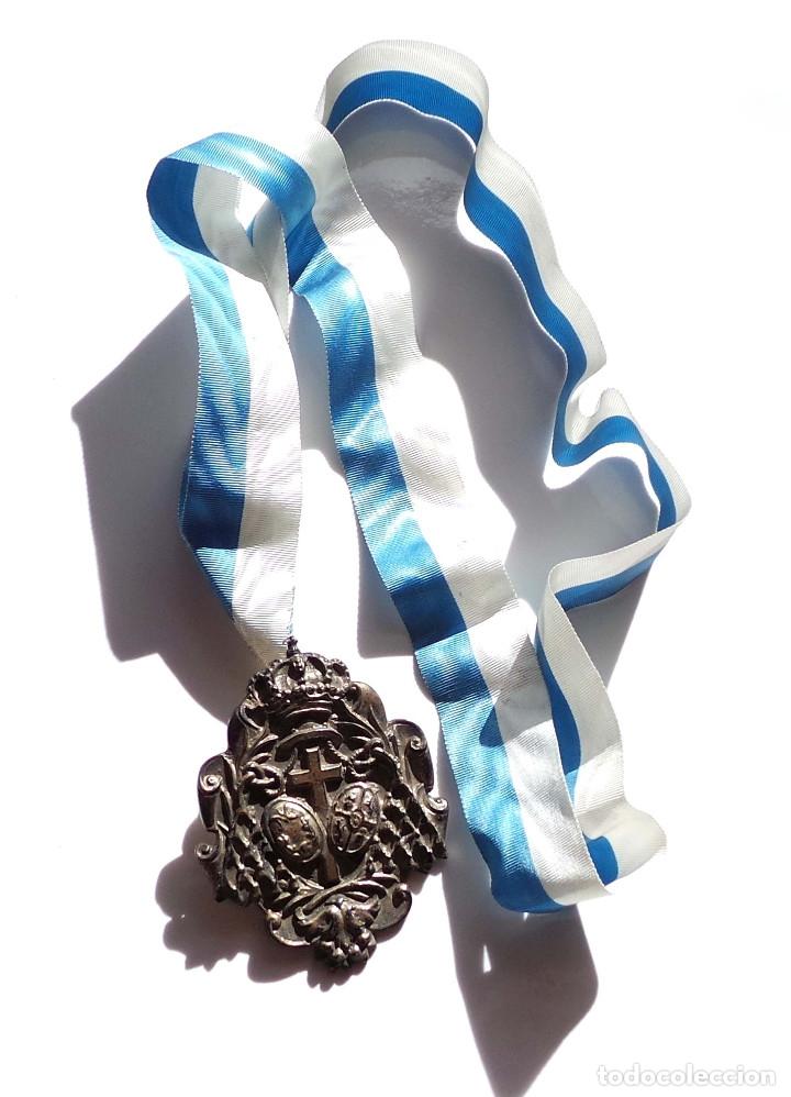 MEDALLÓN SEMANA SANTA HERMANDAD DE LOS NEGRITOS (Antigüedades - Religiosas - Medallas Antiguas)