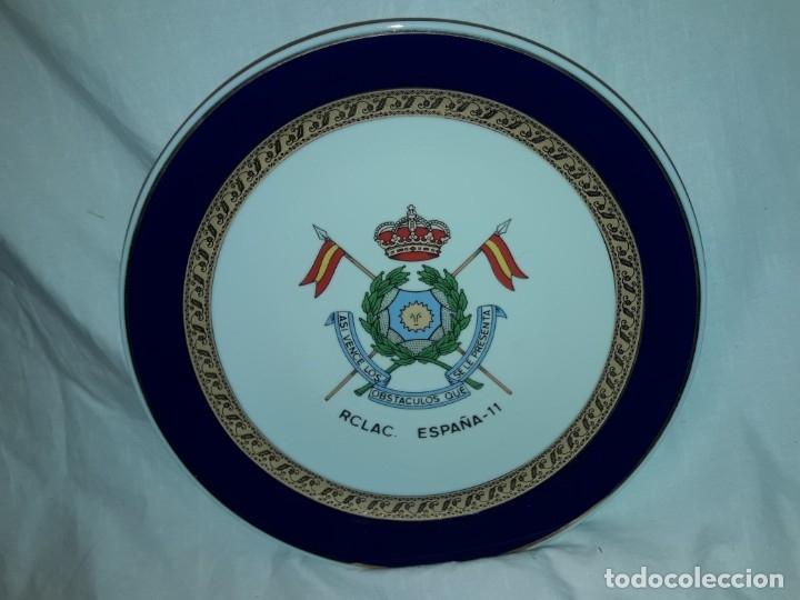 BELLO PLATO PORCELANA MARIBEL CARTAGENA RCLAC ESPAÑA 11 25CM (Antigüedades - Porcelanas y Cerámicas - Cartagena)