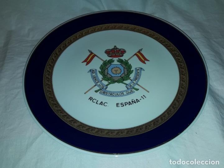 Antigüedades: Bello plato porcelana Maribel Cartagena RCLAC España 11 25cm - Foto 2 - 183344572
