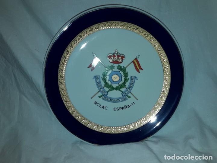Antigüedades: Bello plato porcelana Maribel Cartagena RCLAC España 11 25cm - Foto 3 - 183344572