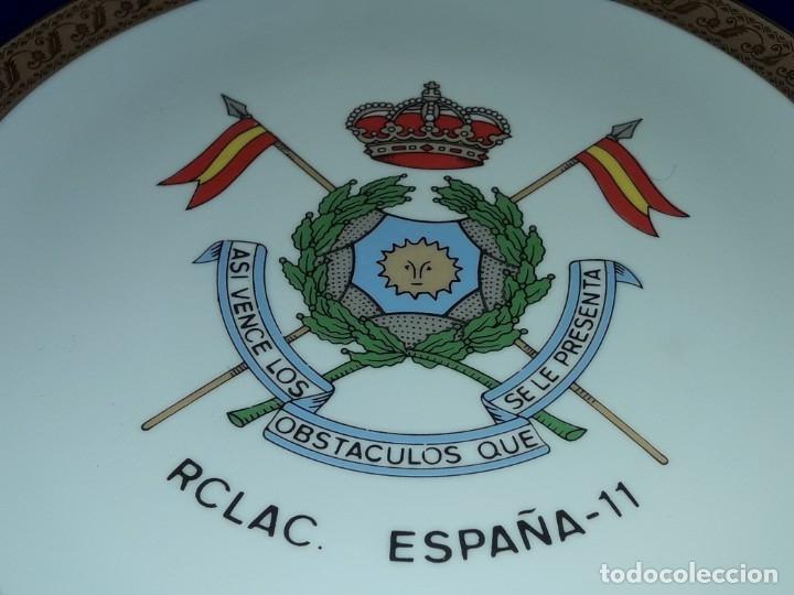 Antigüedades: Bello plato porcelana Maribel Cartagena RCLAC España 11 25cm - Foto 4 - 183344572