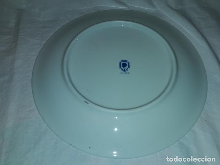 Antigüedades: Bello plato porcelana Maribel Cartagena RCLAC España 11 25cm - Foto 5 - 183344572