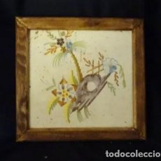 Antigüedades: AZULEJO MANISES SIGLO XVIII. ORIGINAL.SERIE PAISAJES. Lote 183362055