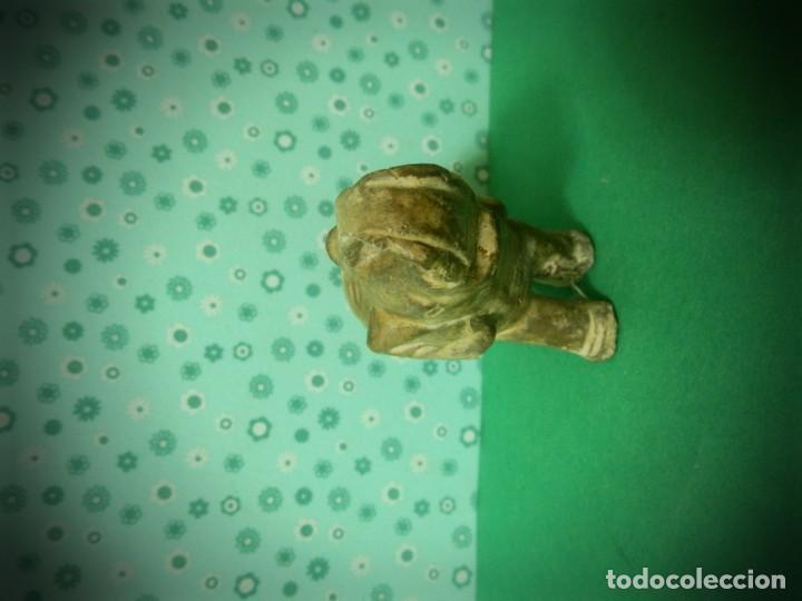 Antigüedades: FIGURA ELEFANTE POSIBLEMENTE AÑOS 50 ELEFANTE BEBE - Foto 2 - 183366496