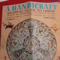 Antigüedades: A HANDICRAFF LISBOA PORTUGAL CERRAMICAS. Lote 183368808