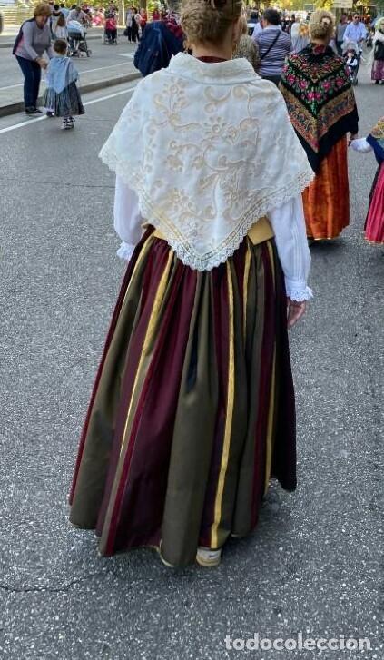 Antigüedades: Falda indumentaria - Foto 3 - 182708397