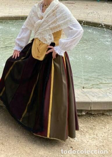 Antigüedades: Falda indumentaria - Foto 4 - 182708397