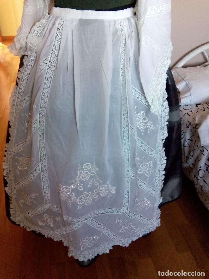 DELANTAL BATISTA (Antigüedades - Moda y Complementos - Mujer)