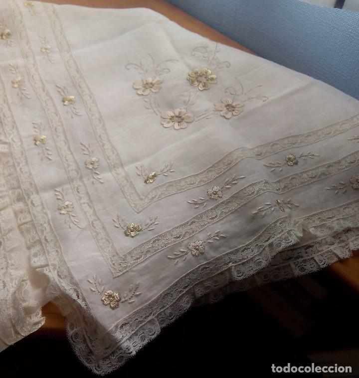 MANTELETA DE HILO (Antigüedades - Moda y Complementos - Mujer)