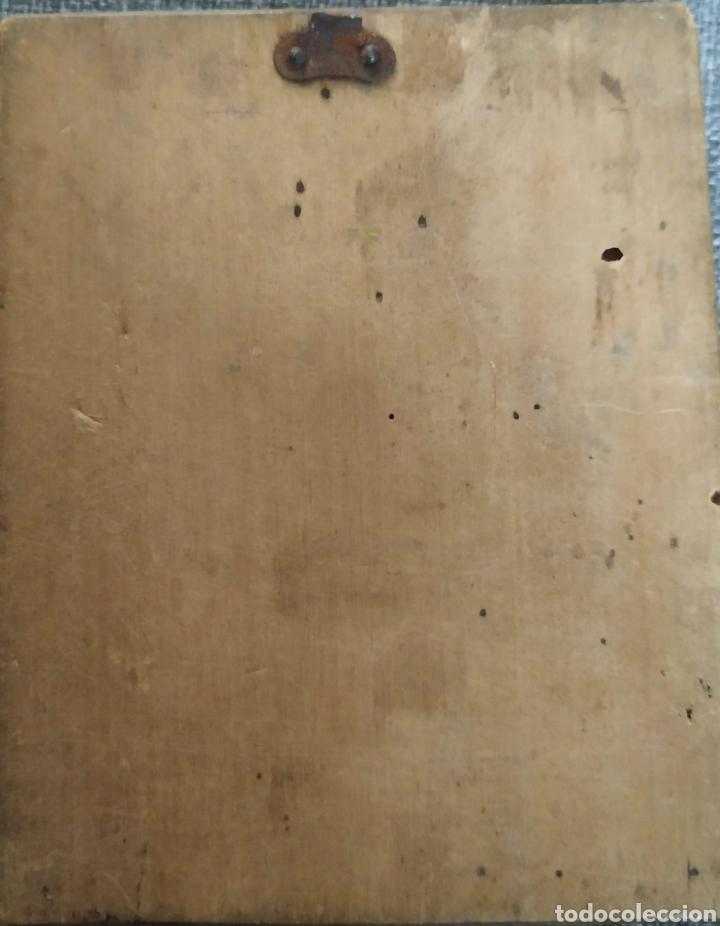 Antigüedades: Mini cuadrito muy antiguo - Foto 2 - 183375057