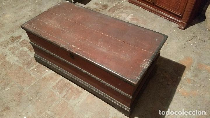 Antigüedades: Auténtico y original Arcón muy antiguo. - Foto 31 - 183382617