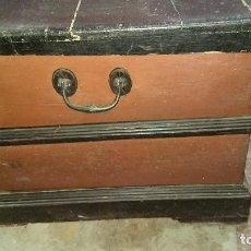 Antigüedades: AUTÉNTICO Y ORIGINAL ARCÓN MUY ANTIGUO.. Lote 183382617