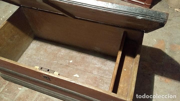 Antigüedades: Auténtico y original Arcón muy antiguo. - Foto 6 - 183382617