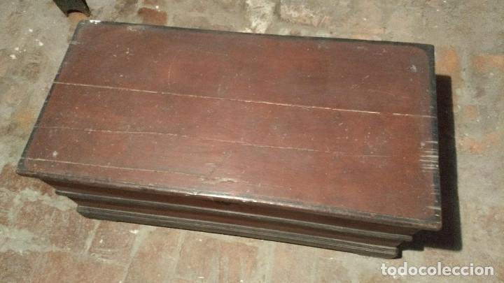 Antigüedades: Auténtico y original Arcón muy antiguo. - Foto 8 - 183382617