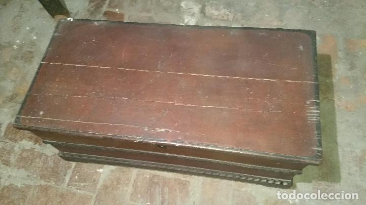 Antigüedades: Auténtico y original Arcón muy antiguo. - Foto 9 - 183382617