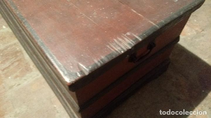 Antigüedades: Auténtico y original Arcón muy antiguo. - Foto 10 - 183382617