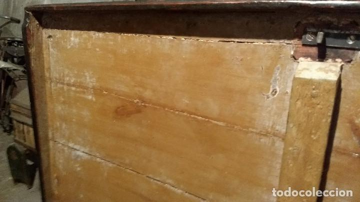 Antigüedades: Auténtico y original Arcón muy antiguo. - Foto 19 - 183382617