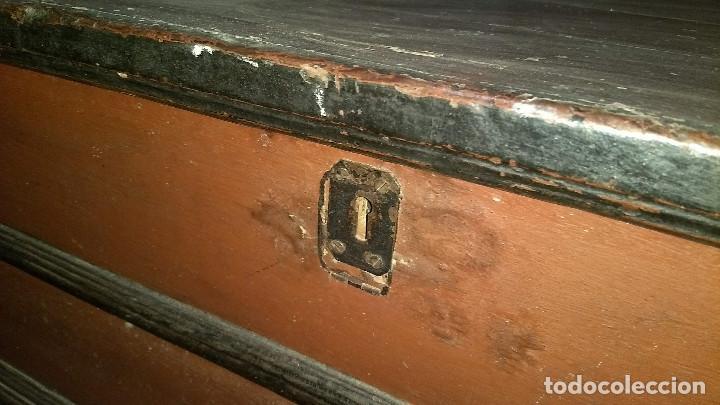 Antigüedades: Auténtico y original Arcón muy antiguo. - Foto 22 - 183382617