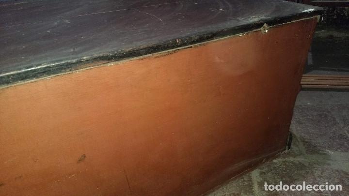 Antigüedades: Auténtico y original Arcón muy antiguo. - Foto 27 - 183382617