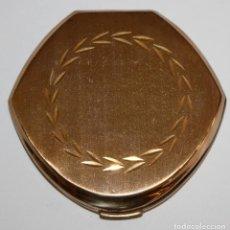 Antigüedades: POLVERA REALIZADA EN METAL. MYRURGIA. Lote 183385032