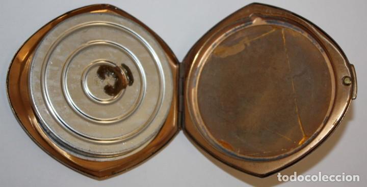 Antigüedades: POLVERA REALIZADA EN METAL. MYRURGIA - Foto 4 - 183385032
