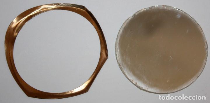 Antigüedades: POLVERA REALIZADA EN METAL. MYRURGIA - Foto 5 - 183385032