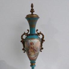 Antigüedades: PRECIOSO JARRÓN DE SÈVRES DEL S. XIX. Lote 183387722