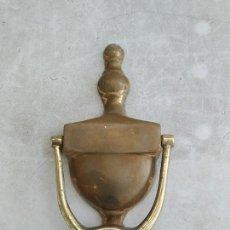 Antigüedades: ANTIGUO LLAMADOR PUERTA BRONCE, CLASICO VINTAGE CASA RURAL, DECORACION,. Lote 183396823