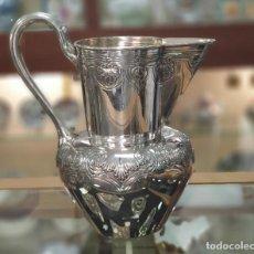 Antigüedades: JARRO EN PLATA LEY MARCADO CON CONTRASTE . Lote 183399467