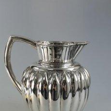 Antigüedades: JARRO EN PLATA LEY MARCADO CON CONTRASTE. Lote 183405835
