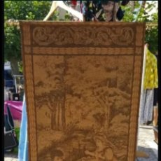 Antigüedades: TAPIZ ANTIGUO FINALES SIGLO XIX. Lote 183411825
