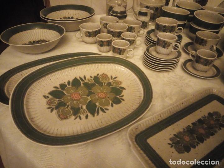 Antigüedades: Antigua vajilla de porcelana winterling bavaria porcelain,modelo nina,retro color verde,1970,60 piez - Foto 5 - 183433940