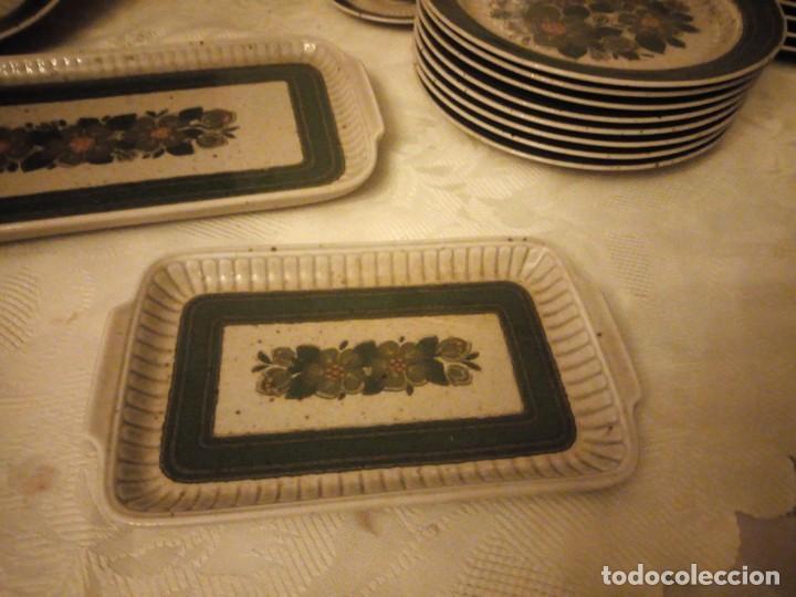 Antigüedades: Antigua vajilla de porcelana winterling bavaria porcelain,modelo nina,retro color verde,1970,60 piez - Foto 7 - 183433940