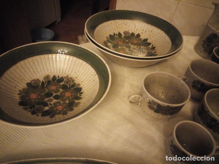 Antigüedades: Antigua vajilla de porcelana winterling bavaria porcelain,modelo nina,retro color verde,1970,60 piez - Foto 8 - 183433940