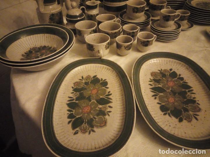 Antigüedades: Antigua vajilla de porcelana winterling bavaria porcelain,modelo nina,retro color verde,1970,60 piez - Foto 9 - 183433940