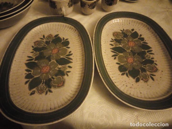 Antigüedades: Antigua vajilla de porcelana winterling bavaria porcelain,modelo nina,retro color verde,1970,60 piez - Foto 10 - 183433940