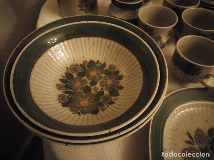 Antigüedades: Antigua vajilla de porcelana winterling bavaria porcelain,modelo nina,retro color verde,1970,60 piez - Foto 11 - 183433940