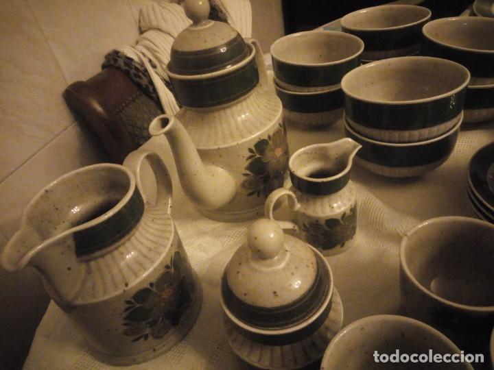 Antigüedades: Antigua vajilla de porcelana winterling bavaria porcelain,modelo nina,retro color verde,1970,60 piez - Foto 14 - 183433940