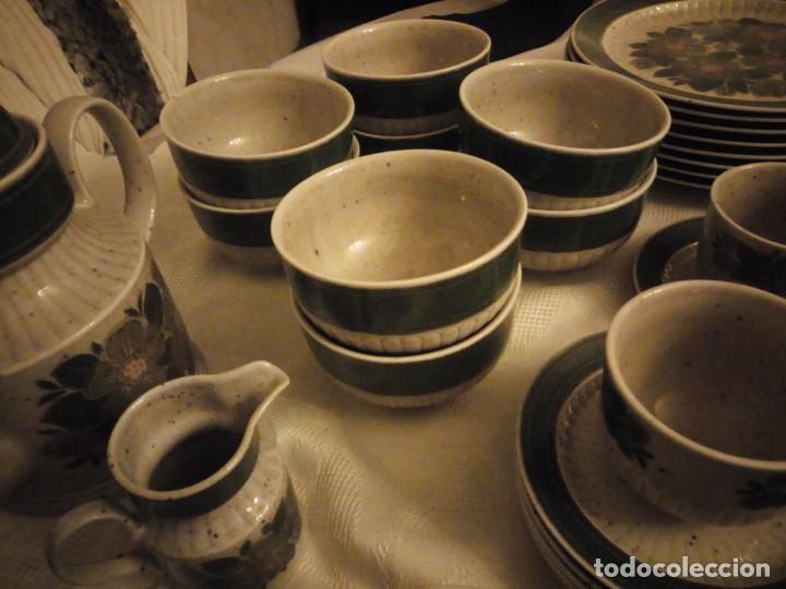 Antigüedades: Antigua vajilla de porcelana winterling bavaria porcelain,modelo nina,retro color verde,1970,60 piez - Foto 15 - 183433940