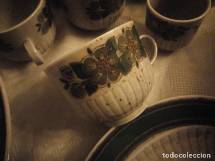 Antigüedades: Antigua vajilla de porcelana winterling bavaria porcelain,modelo nina,retro color verde,1970,60 piez - Foto 16 - 183433940