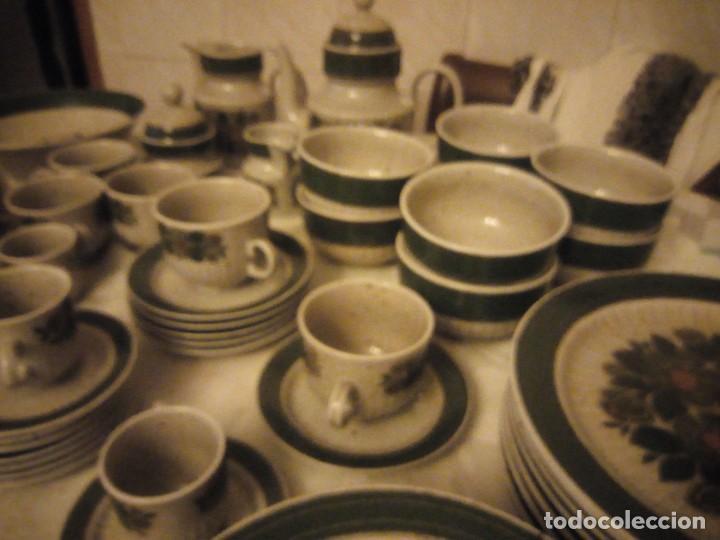 Antigüedades: Antigua vajilla de porcelana winterling bavaria porcelain,modelo nina,retro color verde,1970,60 piez - Foto 20 - 183433940