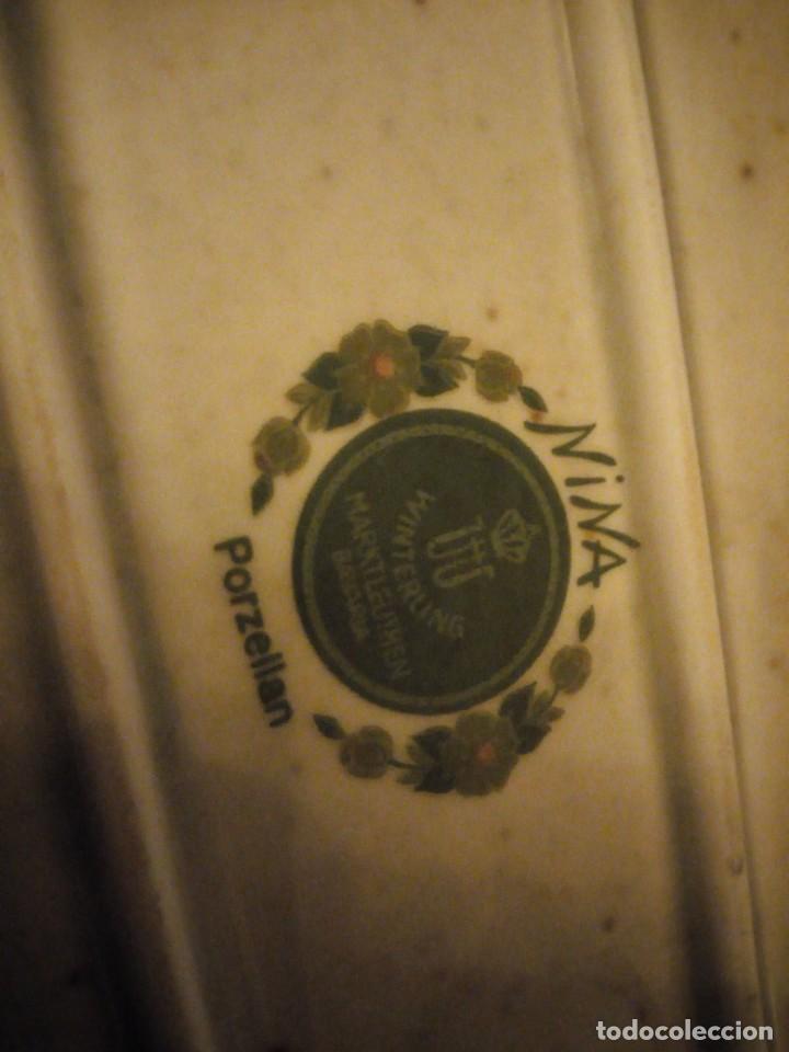 Antigüedades: Antigua vajilla de porcelana winterling bavaria porcelain,modelo nina,retro color verde,1970,60 piez - Foto 21 - 183433940