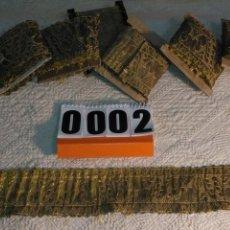 Antigüedades: PIEZA,GALON ORO METAL 7 CM ANCHO . IDEAL VIRGEN SAYA SEMANA SANTA 80 CM. Lote 183435341