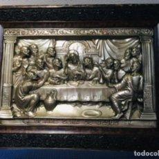 Antigüedades: CUADRO DE LA ÚLTIMA CENA, RESTAURADO. Lote 183436966