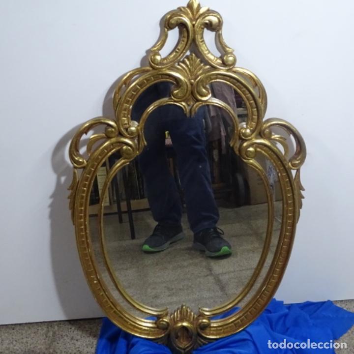 Antigüedades: Espejo cornucopia de madera. - Foto 8 - 183440076